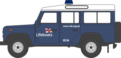 Oxford Diecast RNLI Land Rover Defender Station Wagon