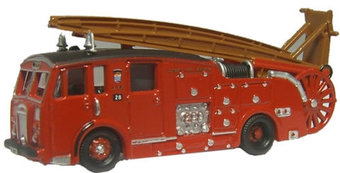 Oxford Diecast London Dennis F12 Fire Engine - 1:148 Scale