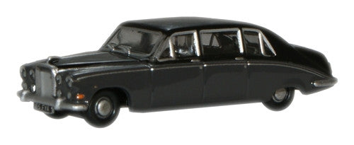 Oxford Diecast Black/Carlton Grey Daimler DS420 - 1:148 Scale