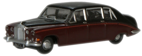 Oxford Diecast Claret/Black (Queen Mum) Daimler DS420 - 1:148 Scale