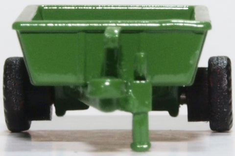 Oxford Diecast Farm Trailer Green