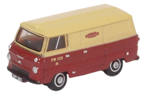 Oxford Diecast Ford 400E Van British Rail