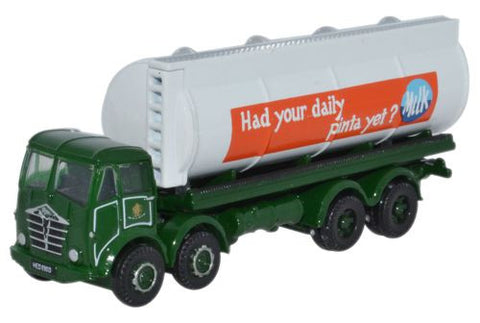 Oxford Diecast Foden FG  Round Tanker Milk Marketing Board - 1:148 Sca
