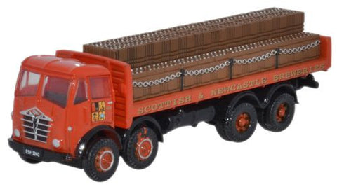 Oxford Diecast Foden FG Dray Scottish & Newcastle - 1:148 Scale