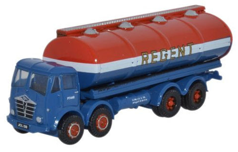 Oxford Diecast Foden FG Oval Tanker Regent - 1:148 Scale