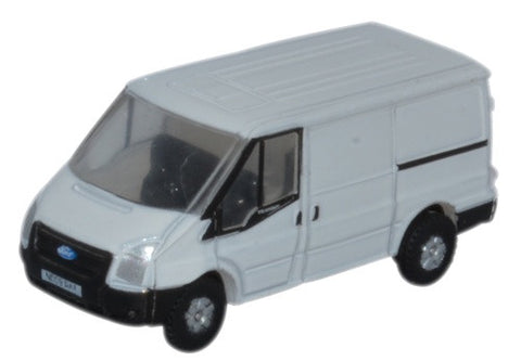 Oxford Diecast Ford Transit SWB Low Roof White