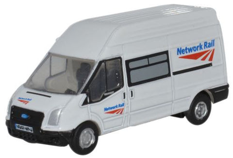 Oxford Diecast Ford Transit Network Rail - 1:148 Scale