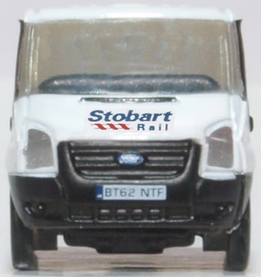Oxford Diecast Ford Transit MK5 Stobart Rail Low