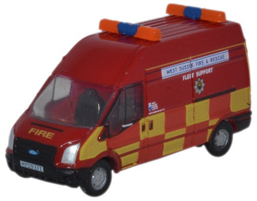 Oxford Diecast Ford Transit LWB West Sussex F & R - 1:148 Scale