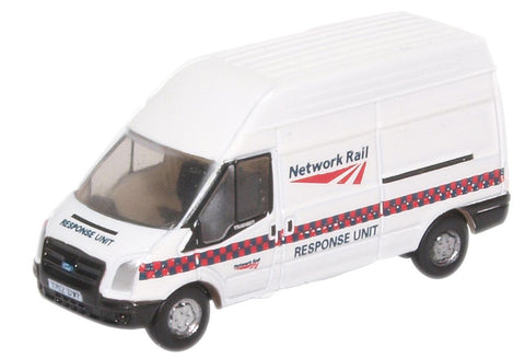 Oxford Diecast Ford Transit MK5 Network Rail Response Unit