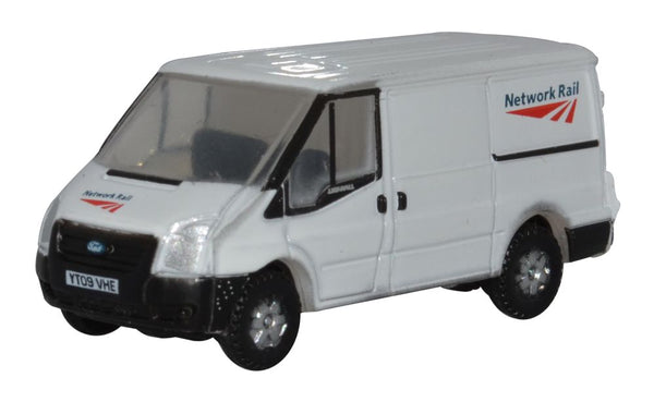 Oxford Diecast Ford Transit Mk5 SWB Low Roof Network Rail 1:148