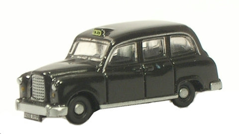 Oxford Diecast FX4 Taxi Black - 1:148 Scale