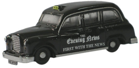 Oxford Diecast Evening News FX4 Taxi - 1:148 Scale