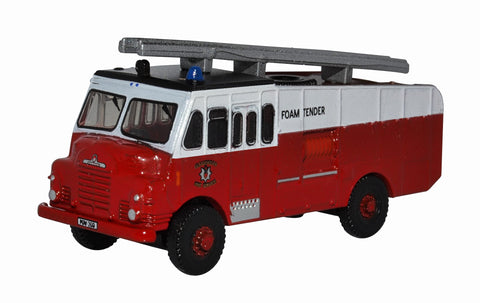 Oxford Diecast Green Goddess Glamorgan Fire Service