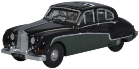 Oxford Diecast Jaguar MkIX Black/Sherwood Green - 1:148 Scale