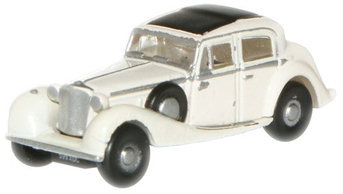 Oxford Diecast Cream SS Jaguar  - 1:148 Scale