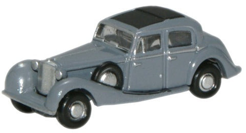 Oxford Diecast Lavendar Grey SS Jaguar - 1:148 Scale
