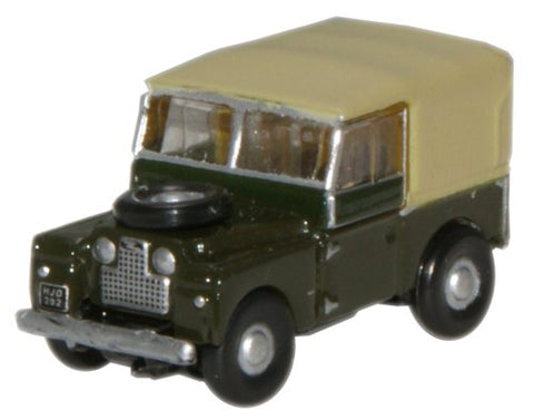 Oxford Diecast Bronze Green Land Rover 88 - 1:148 Scale