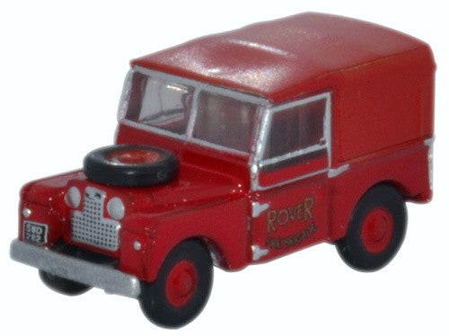 Oxford Diecast Land Rover Series 1 Rover Fire Brigade