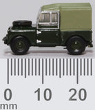 "Oxford Diecast Land Rover Series I 88"" Canvas Reme"