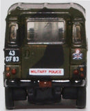 Oxford Diecast Land Rover Lightweight Military Police