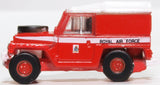 Oxford Diecast Land Rover Lightweight RAF (red Arrows)