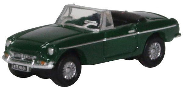 Oxford Diecast MGB Roadster British Racing Green