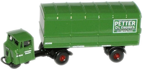 Oxford Diecast Southern Railways  Van Trailer - 1:148 Scale