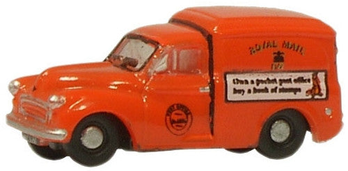 Oxford Diecast Royal Mail Morris 100 Van - 1:148 Scale