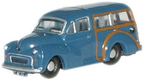 Oxford Diecast Trafalgar Blue Traveller - 1:148 Scale