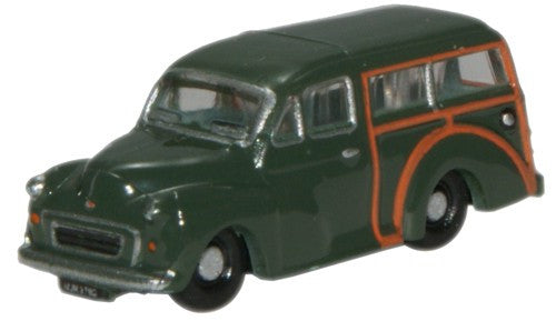 Oxford Diecast Almond Green Morris Traveller - 1:148 Scale
