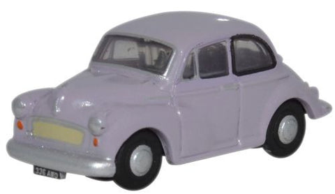 Oxford Diecast Morris Minor Saloon Lilac - 1:148 Scale