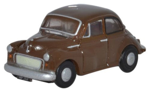 Oxford Diecast Peat Brown Morris Minor Saloon - 1:148 Scale