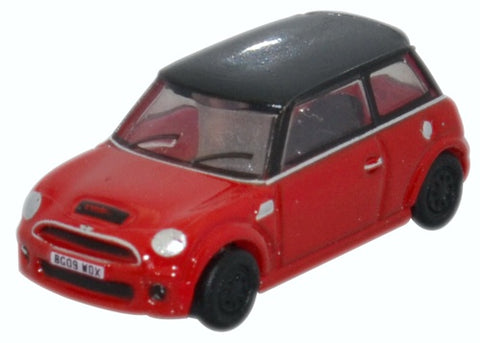 Oxford Diecast New Mini Chili Red