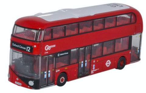 Oxford Diecast New Routemaster Go Ahead London Central