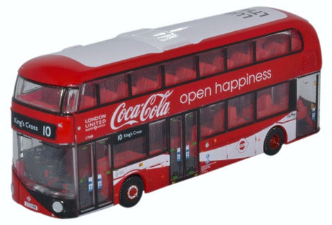 Oxford Diecast New Routemaster London United/coca Cola