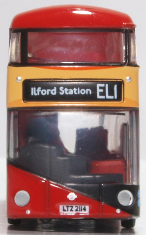 Oxford Diecast New Routemaster East London Transit
