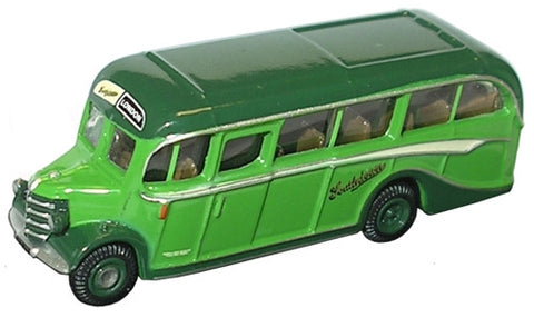 Oxford Diecast Southdown Bedford OB Coach - 1:148 Scale