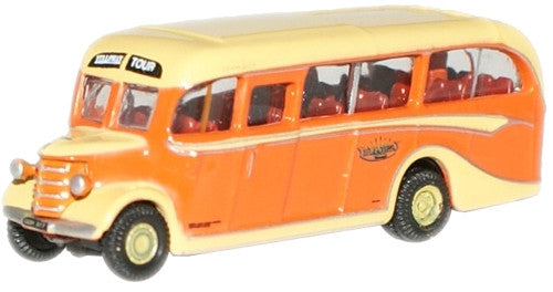 Oxford Diecast Yelloways Bedford OB Coach - 1:148 Scale