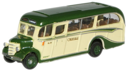 Oxford Diecast Crosville Bedford OB Coach - 1:148 Scale