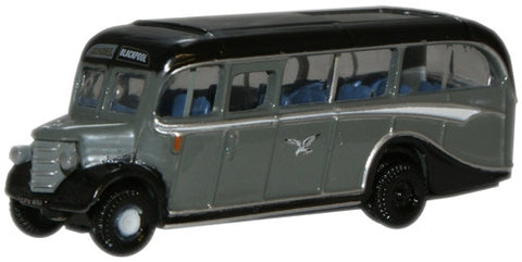 Oxford Diecast Seagull Coaches Bedford OB Coach - 1:148 Scale