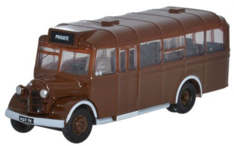 Oxford Diecast Brown As delivered Bedford OWB - 1:148 Scale