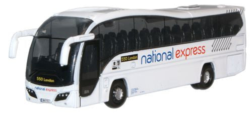 Oxford Diecast National Express Plaxton Elite - 1:148 Scale