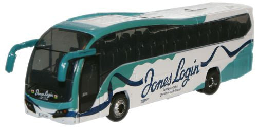 Oxford Diecast Jones Login Plaxton Elite - 1:148 Scale