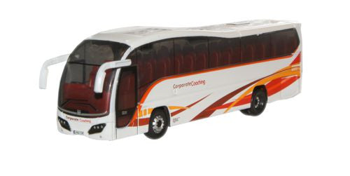 Oxford Diecast Logans of Dunloy Plaxton Elite - 1:148 Scale