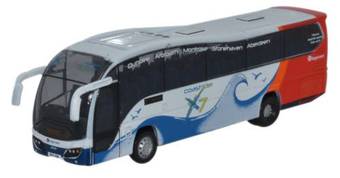 Oxford Diecast Plaxton Elite Stagecoach Coastrider X7 - 1:148 Scale