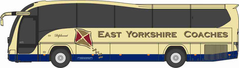 Oxford Diecast Plaxton Elite East Yorkshire Coaches - 1:148 Scale