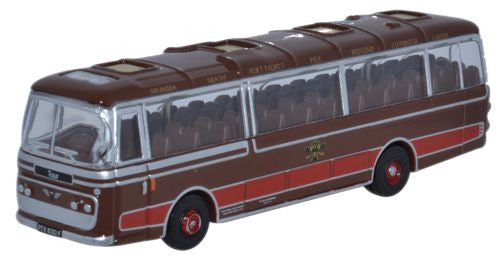 Oxford Diecast Plaxton Panorama 1 Neath & Cardiff - 1:148 Scale