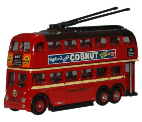 Oxford Diecast London Transport Q1 Trolleybus - 1:148 Scale