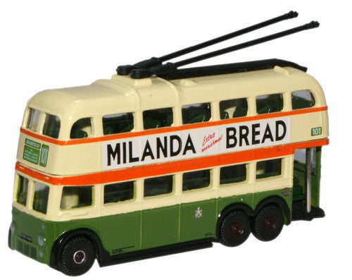 Oxford Diecast Glasgow Corporation Transport BUT Trolleybus - 1:148 Sc